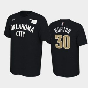Thunder #30 Deonte Burton Earned T-Shirt